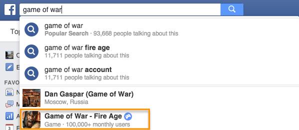 Аудитория мобильного приложения Game of War