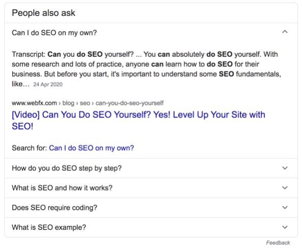 стартап, который нашел хак, как пробраться в секцию ответов на вопросы в результатах поиска Google для определенных запросов